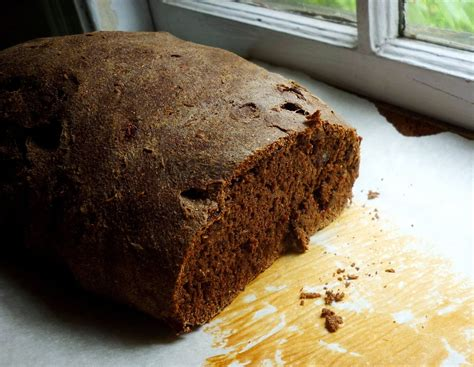 food for poems pumpernickel rye bread with raisins