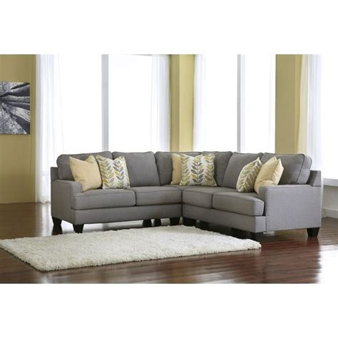 ashley furniture 3 piece sectional signature design by ashley furniture chamberly 3 piece