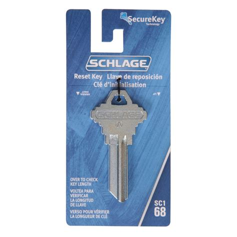 resetting key locks shop the hillman group schlage lock reset key blank at