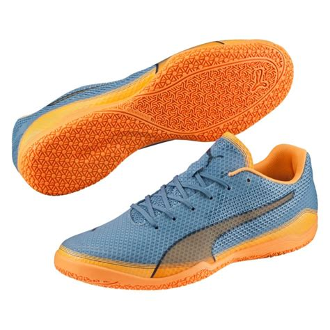 Futsal Invicto Fresh Orange invicto fresh indoor soccer shoes blue heaven orange
