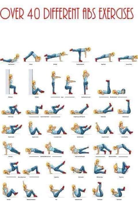 top abdominal exercises for to get flat tummy