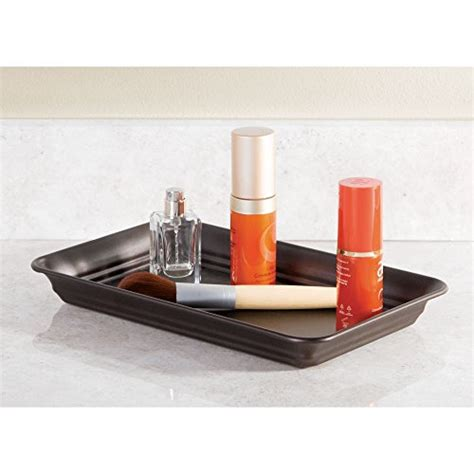 Bathroom Organizer Tray Interdesign Bathroom Vanity Countertop Guest Towel And Organizer Tray Bronze Ebay