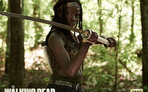 Walking Dead Michonne the walking dead staffel 4 michonne hintergrundbilder the walking dead staffel 4 michonne