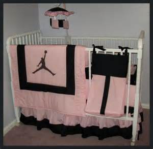 Pink And Black Crib Bedding Sets Custom New Michael Pink And Black Crib Bedding Set Ebay