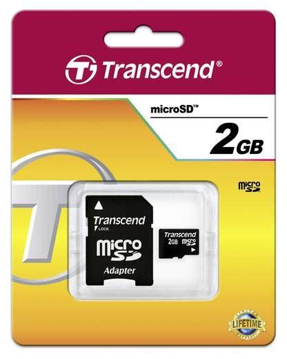 Micro Sd 2gb Micro Sd Adapter microsd karte 2 gb transcend ts2gusd class 2 inkl sd adapter
