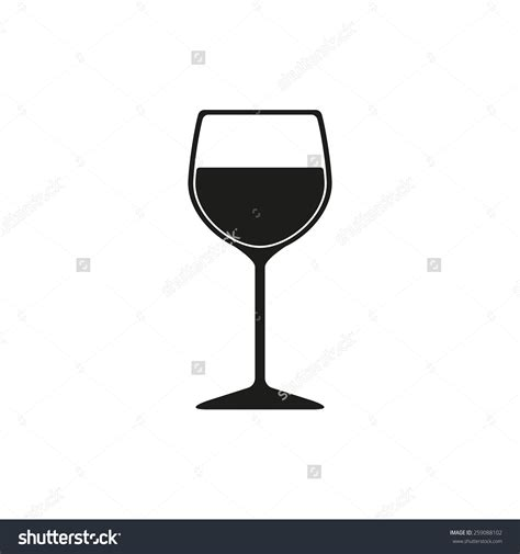 wine silhouette white wine glass clipart 64