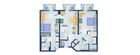 boardwalk villas one bedroom floor plan disney s boardwalk villas disney vacation club rental store