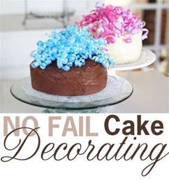 How To Decorate A Birthday Cake At Home by A Piece Of Cake Decorating In My Own Style