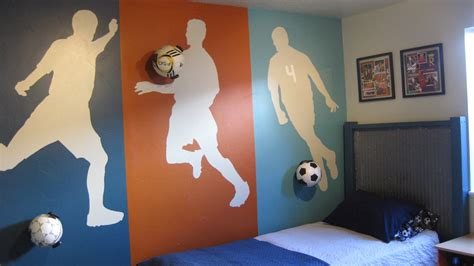 soccer murals for bedrooms soccer murals for bedrooms bedroom ideas