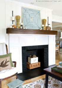 Inside Fireplace Decor Exciting Fall Mantel Decor Ideas Shelterness