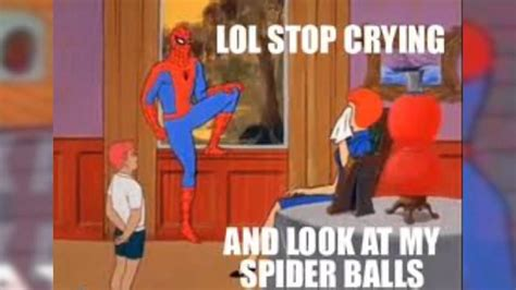 Spiderman Cancer Meme Generator - spiderman meme cancer 93 images spiderman loves 1960s