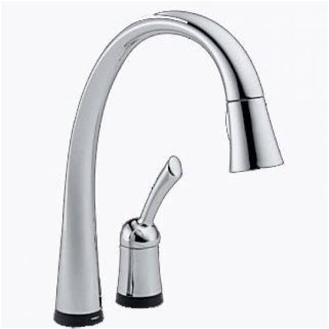 delta pilar kitchen faucet delta pilar single handle pull kitchen faucet with