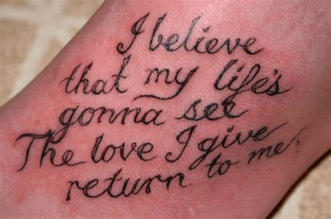 tattoo quotes about love 20 quotes for tattoos about for him