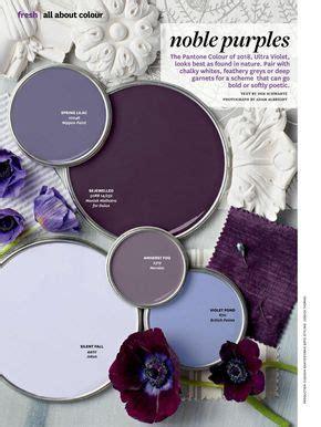 noble purples paint color palette purple paint colors