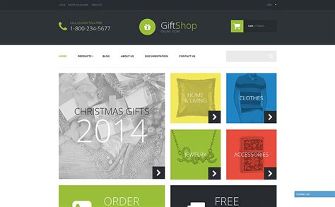 Shopify Gift Card Template by Gift Shop Shopify Theme 52257
