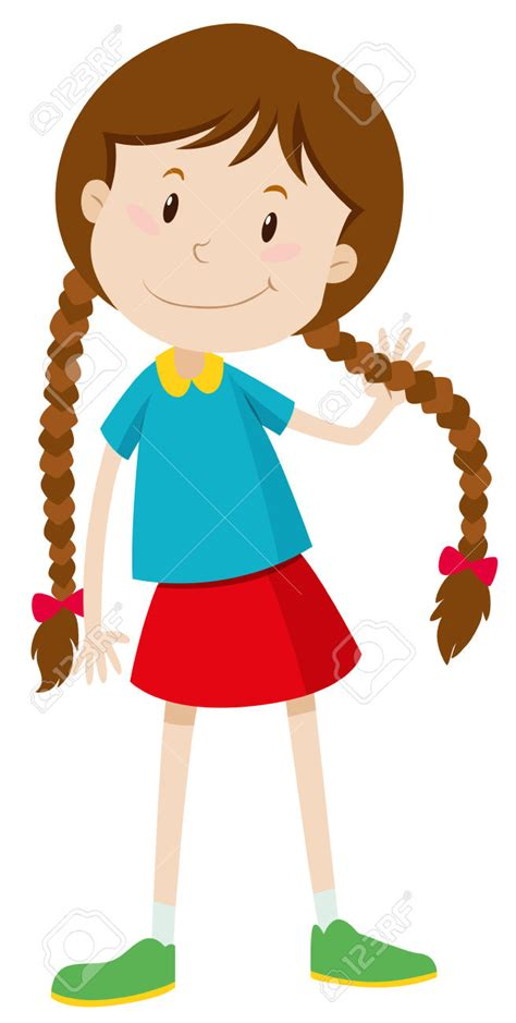 long hairstyles cartoon long hair clipart clipartxtras