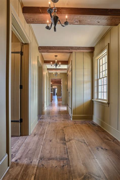 floor and decor the colony wide plank wood flooring interior hallway classic colonial homes architecture for the home