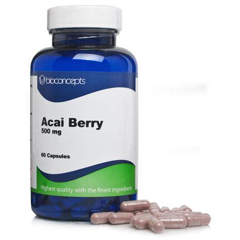 Do Acai Berry Detox Pills Work by Acai Berry Diet Weight Loss Pills Bioconcepts Acai