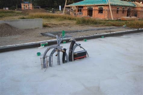 Bewehrung Bodenplatte Garage by Hillboo Bodenplatte Armiert Ausgegossen