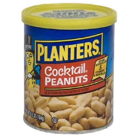 Are Planters Peanuts For You by Planters Peanuts For Sale Planters Cocktail Peanuts 6 5