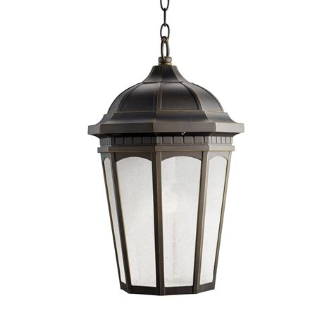 Shop Kichler Courtyard 21 5 In Rubbed Bronze Outdoor Kichler Outdoor Lights