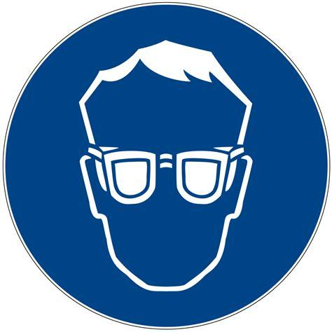 werkstatt piktogramm schutzbrille
