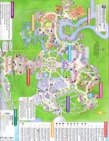 Walt Disney World Magic Kingdom Map by Magic Kingdom At Walt Disney World 2016 Park Map
