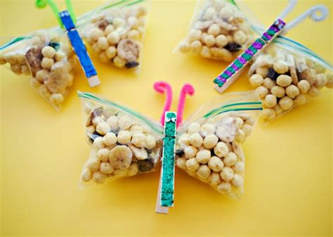 butterfly snacks edible crafts