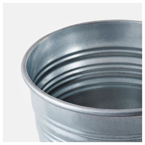 Ikea Socker Pot Tanaman Galvanis 12 Cm socker cache pot int 233 rieur ext 233 rieur acier zingu 233 12 cm ikea