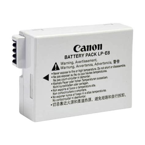 Baterai Battery Canon Lp E8 For Canon 550d 600d 650d Berkualitas jual canon baterai lp e8 harga kualitas