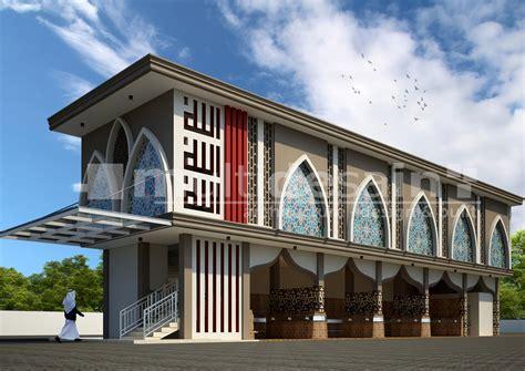 Desain Bangunan bangunan ibadah multidesain arsitek