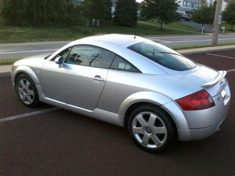 Audi Tt Baujahr 2000 by Purchase Used 2000 Audi Tt Coupe 2 Door 1 8l Turbo Fast