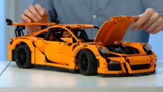 Lego Porsche 911 Gt3 Rs New Lego Porsche 911 Gt3 Rs Takes Attention To Detail To A