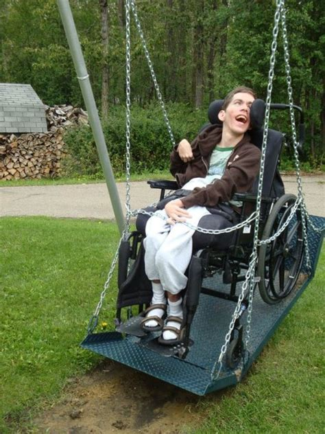handicap swing wheelchair swing duchenne wheelchair clothes