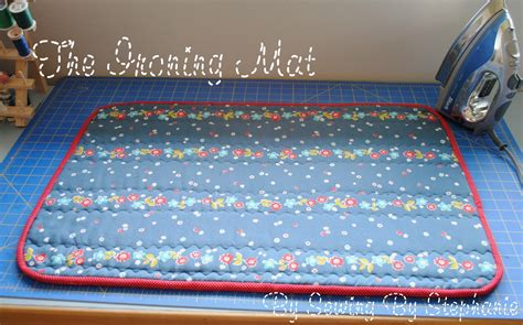 Ironing Board Mat by Sewing By Ironing Mat Tutorial