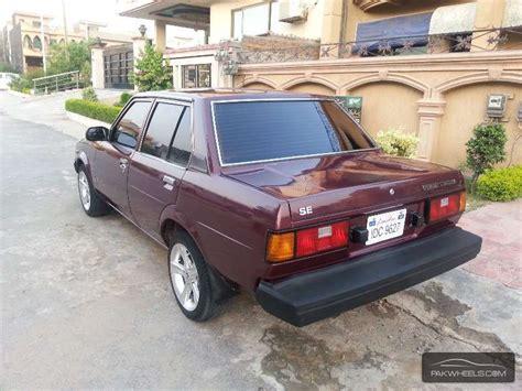 1982 Toyota Corolla For Sale Toyota Corolla For Sale In Islamabad Pakwheels