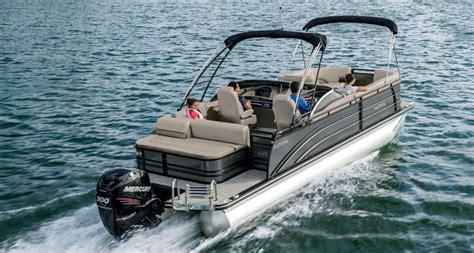 harris pontoon boat bimini top solstice dc 250 by harris boats premium bowrider pontoon