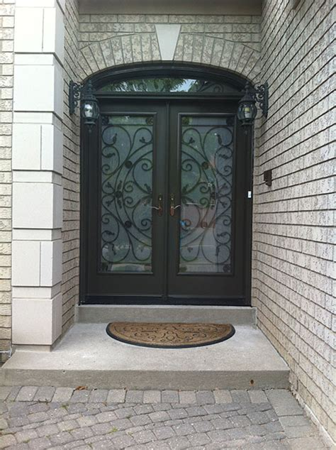 Exterior Doors Ta Fiberglass Doors Front Entry Doors Fiberglass Doors Julieta Design With Arch Transom And Frosted