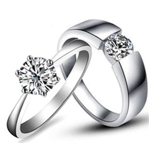 Wedding Rings Pair by Aliexpress Buy Amazing Design Real Solid 18k 750