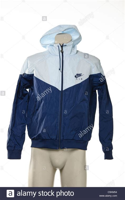 jaket blue blue black nike air windrunner s sportswear windcheater