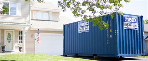 self storage containers portable moving self storage to buy or rent big blue boxes
