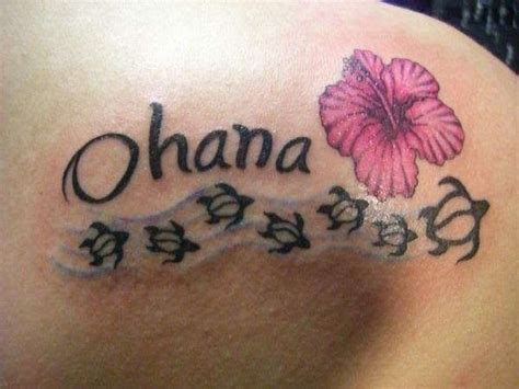 tattoo family cursive i m confident that this is the one only ohana written in