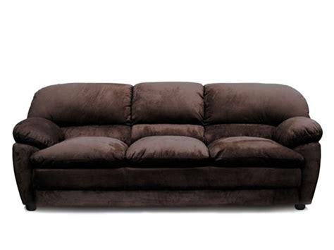 chocolate microfiber sofa bella chocolate microfiber sofa by acme 5585