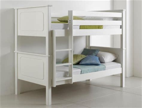 bedmaster vancouver white painted bunk bed frame buy