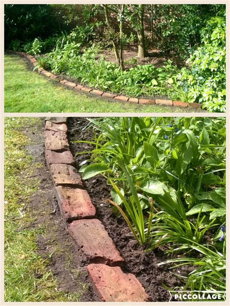 making    bricks   garden  scrubbing