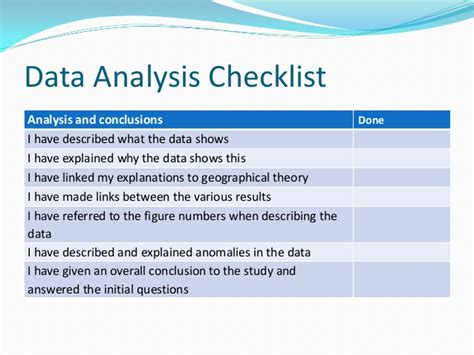 how to write a data analysis for a research paper controlled assessment data analysis
