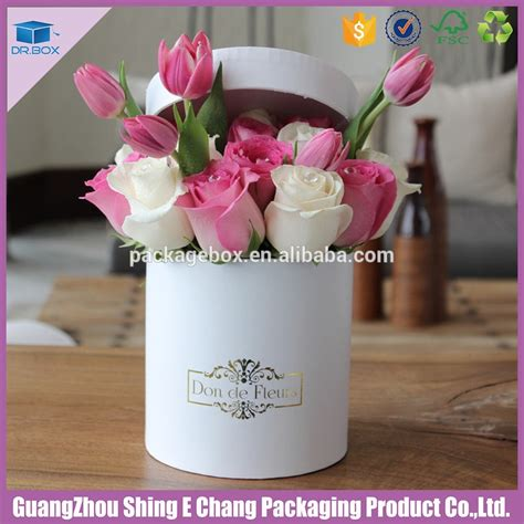 Flowers Box Satin Bloom Box china supplier printed cardboard packaging gift box for