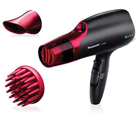 Panasonic Hair Dryer With Brush Attachment panasonic eh na65 k nanoe hair dryer professional quality