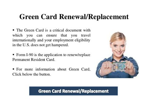 If Green Card Is Process Can You Do Mba by How Do I Start The Green Card Renewal Process