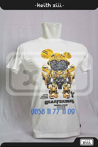 Kaos Transformer 06 Bumblebee dinomarket pasardino kaos tshirt keren unik lucu 100
